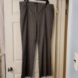 Suit pants gray/silver size 18 tall